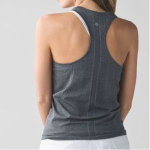 Lululemon Swiftly Racerback Tank, Grey